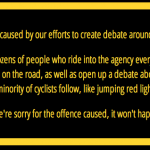ride-smart.org apology